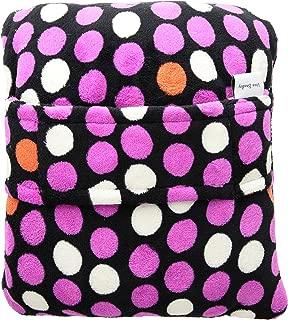 Vera Bradley Women's Fleece Fleece Trolley Sleeve Travel Blanket