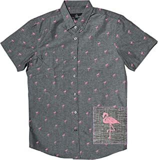 M MOLOKAI SURF Boys Shirts Fun Hawaiian Short Sleeve Shirt