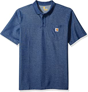 Carhartt Men's Big and Tall Big & Tall Contractors Work Pocket Polo Original Fit K570