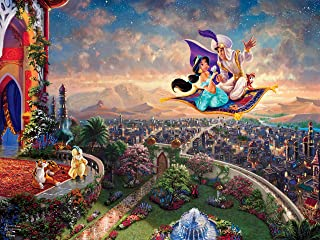 Thomas Kinkade Disney - Aladdin Puzzle - 300 Pieces