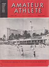 Amateur Athlete Magazine - October 1954 ( Volume 25, Number 10) Roney Plaza Hotel Miami Beach, FL cover