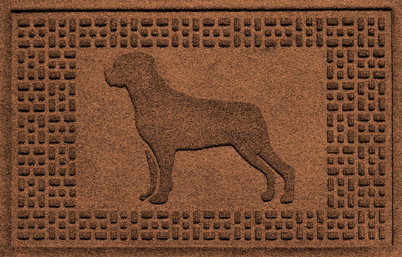 Aqua Shield redtweiler Mat, Dark Brown, 2  x 3