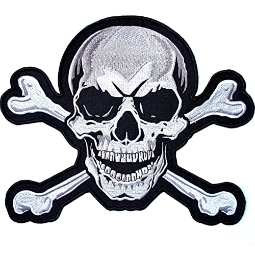 Biker Back Patches for Jackets: Amazon com