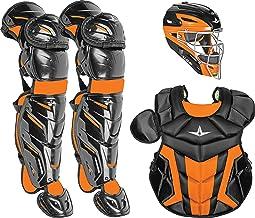 All-Star System7 Axis Elite Travel Catchers Set Youth CK1216S7XTT - Black/Orange
