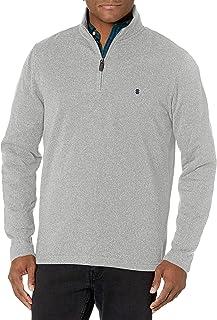 IZOD Men's Advantage Performance Quarter Zip Sweater Fleece Solid Pullover