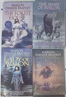 Marion Zimmer Bradley's Avalon Series 4 Volumes (Includes: the prequel-The Forest House and volumes 1-3- The Mists of Avalon, Lady of Avalon and Priestess of Avalon)