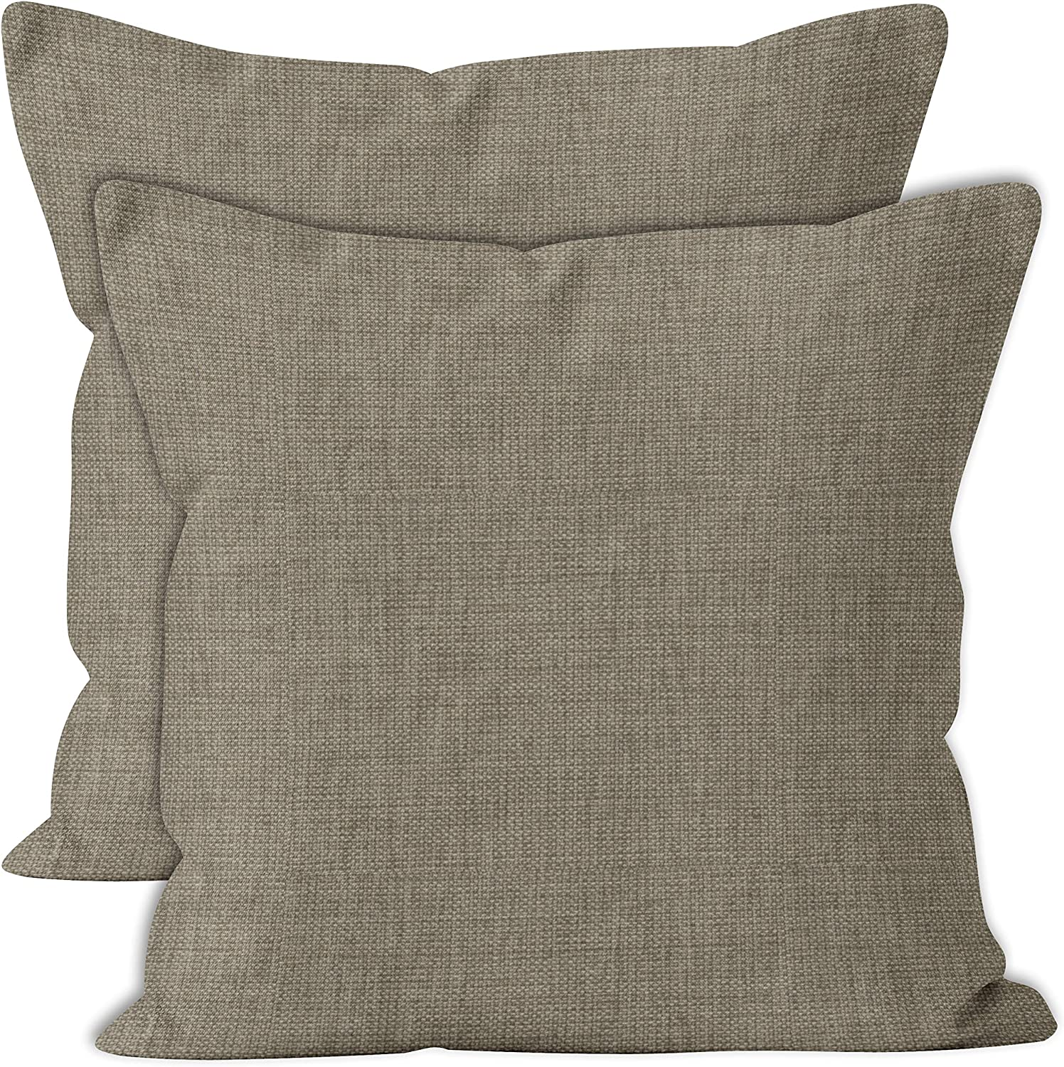 Encasa Homes Chenille Throw Pillow New Shipping Free Covers Solid 2 Set pcs - Max 69% OFF Ligh