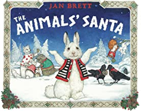 The Animals Santa By Jan Brett