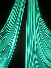 Low Stretch Aerial Silks/Yoga HAMMOCKS Fabric, Sells by The Yard (Teal)
