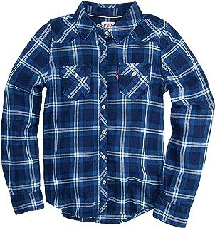 Levi's Girls' Little Long Sleeve Button Up Shirt