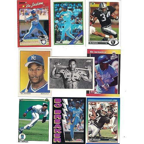 Bo Jackson Baseball Card Amazoncom