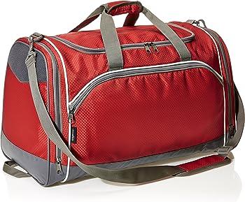AmazonBasics Lightweight Durable Sports Duffel Gym & Overnight Travel Bag