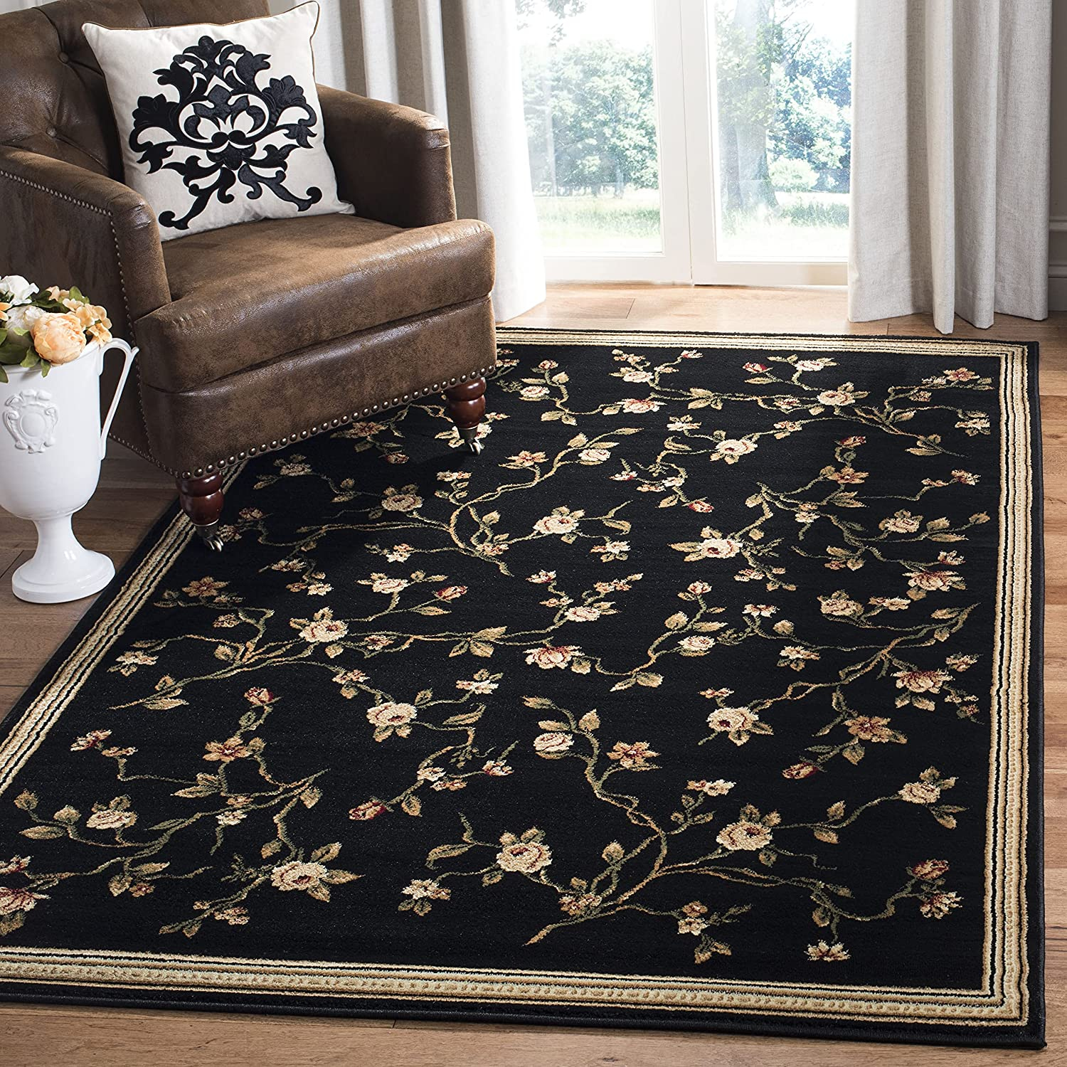 Safavieh Free shipping Lyndhurst Now free shipping Collection LNH220A Non-She Floral Traditional