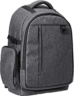 AmazonBasics DSLR Camera Backpack (High Density Water-Resistant 840D Polyester) - Ash Gray