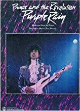 PURPLE RAIN - Recorded by Prince & The Revolution (Piano Vocal Guitar) Sheet Music 1984 Out-Of-Print