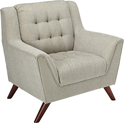 Coaster 511033-CO Baby Natalia Tufted Chair, Dove Grey