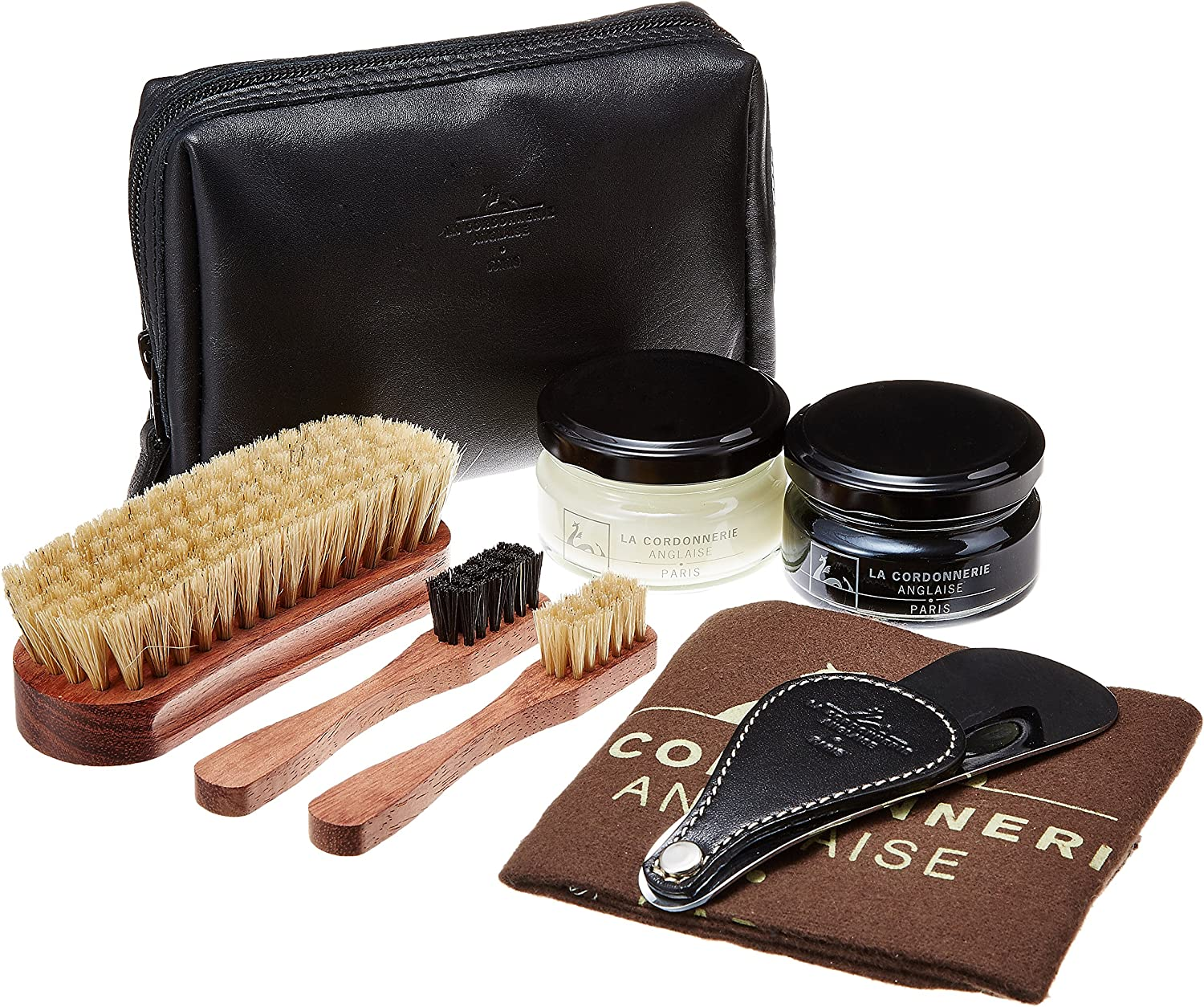 Luxury Fort Worth Mall Shoe Care Kit Latest item -Leather Travel by - La Case Clipper Cordon