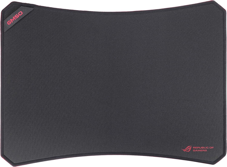 Asus ROG GM50 - Alfombrilla para ratón (Material prémium, Antideslizante), Color Negro