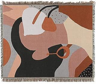 Sonemone Soft Throw Blanket Year Round Aztec Bohemian Home Cozy Couch Sofa Bed Beach Travel 50x60 Pattern