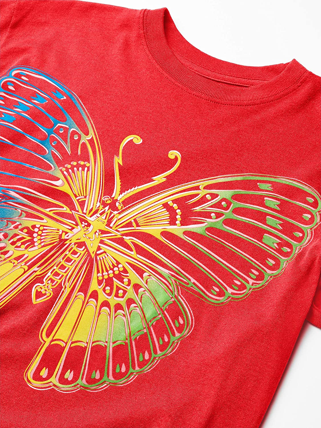 Obey Mens Ss Sustainable Butterfly Tee