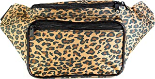 SoJourner Bags Men's Fanny Pack One Size Cheetah