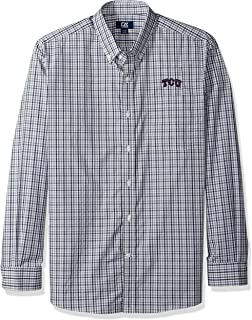 Cutter & Buck Mens Long Sleeve Gilman Plaid MCW09580
