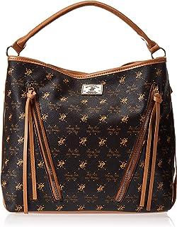Beverly Hills Polo Club Handbag for Women-Brown