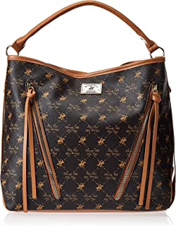 Beverly Hills Polo Club Handbag for Women-Brown
