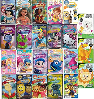Play Pack Grab and Go Assorted Set For Girls, Princess and Many More (12 Different Packs Guaranteed) 1 Assorted Crayola Co...