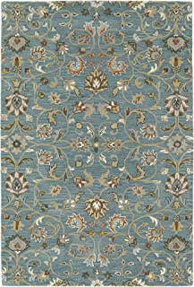 Kaleen Rugs Middleton Collection MID05-78 Turquoise Hand Tufted 8' x 10' Rug