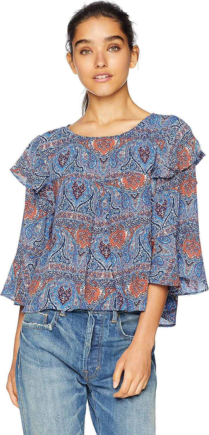Jack Women's Eat Safety and trust Slay Soldering Love Printed Top CDC