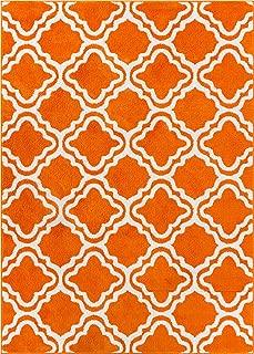Best orange trellis rug Reviews