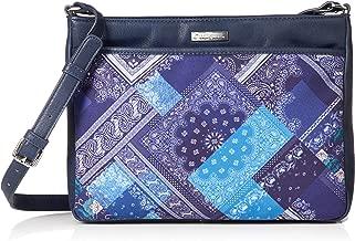 Desigual Grand sac /à main ethnique noir bandouli/ère femme avec mandalas 19waxp34 taille 30 cm