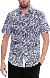 قميص كاجوال بأكمام قصيرة للرجال من Woody's Retro Lounge