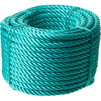Seilwerk STANKE 10 m 20 mm corde en polypropyl/ène corde damarrage gr/éement corde blanche