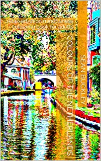 Colours of the Netherlands: relax-art-ation mindfulness colouring book for adults