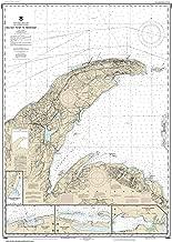 NOAA Chart 14964 Big Bay Point to Redridge;Grand Traverse Bay Harbor;Lac La Belle harbor;Copper and Eagle Harbors: 48.05