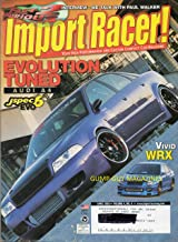 IMPORT RACER April 2003 High Performance & Custom Compact Car Magazine THE FAST AND THE FURIOUS 2: PAUL WALKER INTERVIEW Evolution Tuned Audi A4 jspec 6 EVO; 7000HP MOTOR SWAP Banker's BMW; JETTA