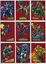 1993 Marvel Universe Series IV RED FOIL 2099 Insert Set of 9 Cards NM/M