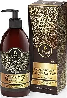 Moroccan Gold Series Argan Moisturizing Style Cream 500ml