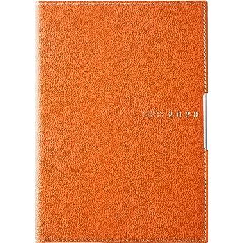 高橋 手帳 2020年 4月始まり B6 マンスリー ディアクレール 3 オレンジ No.623