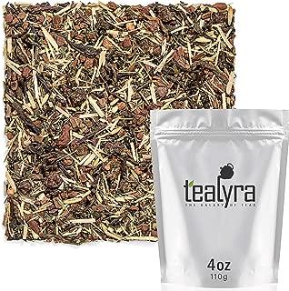 Tealyra - Keep Running Pu'erh - Cinnamon Goji - Nettle - Wellness Pu-erh Loose Leaf Tea Blend - Bold Caffeine - All Natural - 112g (4-ounce)