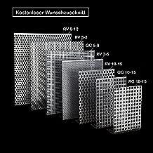 Stahl Lochblech Verzinkt Rv 5-8  Rund Abdeckung Lochplatte Adeckgitter