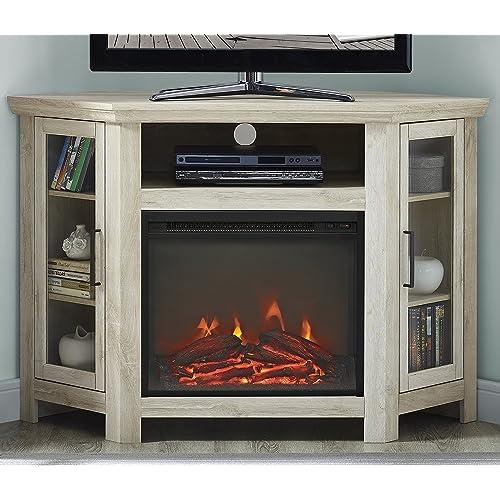 Tv Stands Fireplace Amazon Com