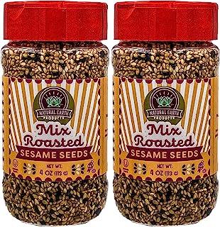 Sponsored Ad - Natural Earth Products - Mix Roasted Sesame Seeds - OU-Kosher Parve - 4 Oz (2-Pack)