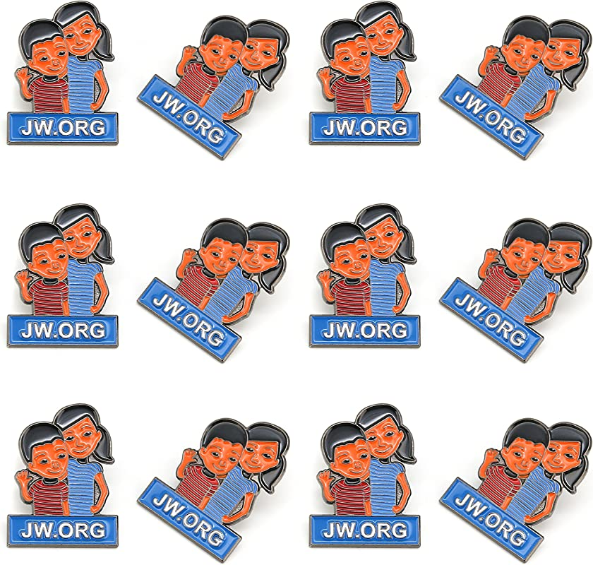 JW Org Caleb And Sophia Pin Become Jehovah S Friends Kids Pin 12 Pack