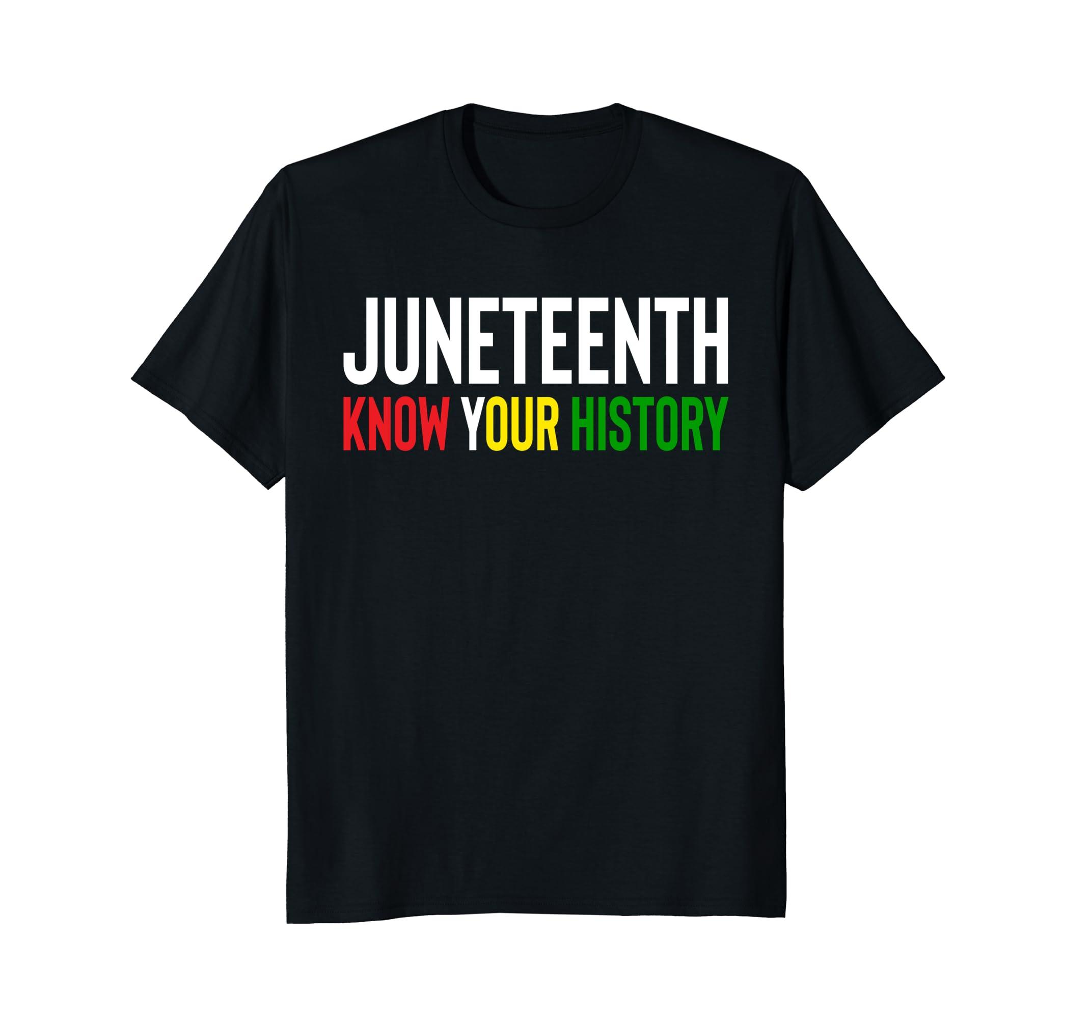 Black History & Pride JUNETEENTH June 9th, 2018 T-Shirt-SFL
