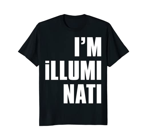 Amazon com: Isak's I'm Illuminati: Clothing