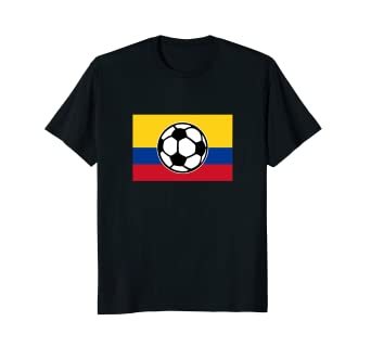 Colombia Soccer T-Shirt for Colombian Football Fans