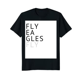 Image Unavailable. Image not available for. Color  Fly Eagles Fly T Shirt  Flying Eagles Shirt Men Women Kids 66efda90c